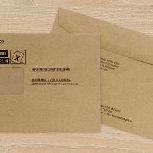 Bespoke Envelopes for Councils